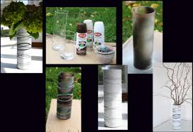 Diy Vase Decor She Wraps Rubber Bands Around A Vase The Results I Am Doing It