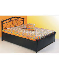 Simple Double Bed Designs With Box Indian Double Bed Designs With Storage