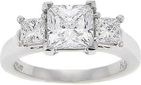 precision set rings precision set three princess cut engagement ring 60ct tw ps