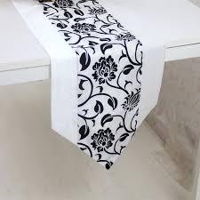 Retro Table Ls Simple Table Runner Cloth Floral Printed Taffeta Retro Decorative