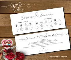 wedding itinerary printable wedding weekend timeline t0109 wedding itineraries