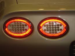 97 04 chevy corvette c5 led lights by depo dash z racing