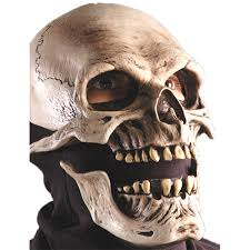 Skeleton Halloween Mask by Death Costumes