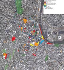 Newark Map Newark Development Map 12 16 2015 Urbanism Vs Modernism