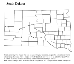 map of south dakota counties south dakota to wyoming us county maps