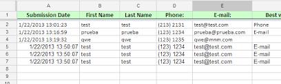 Spreadsheet Integration Spreadsheet Integration Duplicate And Triplicate Entries