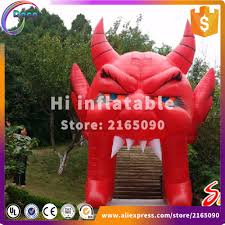 compare prices on halloween inflatable arch online shopping buy