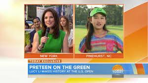 u s women u0027s open 2014 lucy li on nbc u0027s today show golf channel