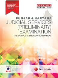 punjab and haryana judicial services preliminary examination the