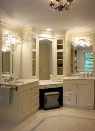 Corner Mirror For Bathroom by Corner Bathroom Vanity Design Ideas