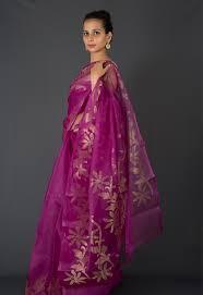 dhakai jamdani purple dhakai jamdani