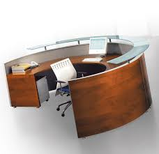 Curved Office Desk Furniture Brilliant Curved Office Desk Regarding Techno Executive L Shaped