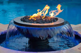 Firepit Bowl Evolution 360 And Water Feature Hearth Products Controls Co