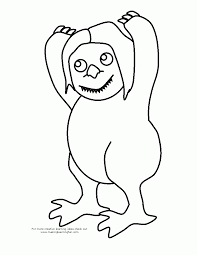 skills where the wild things are coloring pages cbc87 popular