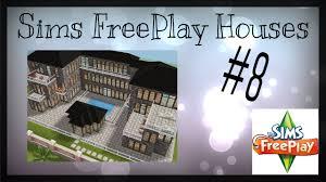 sims floor plans sims freeplay castle with floor plan house idea 8 youtube