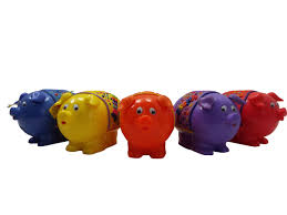 personalised piggy bank childrens colourful personalised piggy banks