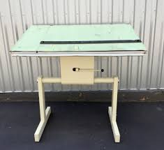 Norman Wade Drafting Table Industrial Drafting Table Barefoot Dwelling