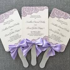 how to make wedding fan programs how to make wedding program fans diy wedding program fans