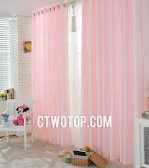 Cheap Cute Curtains Dreamy Cute Best Beautiful Baby Pink Simple Kids Curtains