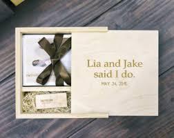 engravable photo album 10x10 wooden photo album box wedding album personalized