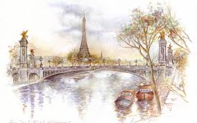 Eiffel Tower Decoration Decorating Eiffel Tower Art Paintings And Paris Painting Ideas