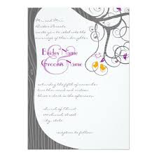 Love Bird Wedding Invitations Plum Tree Wood Grain Love Birds Wedding Invitation Invitations 4 U