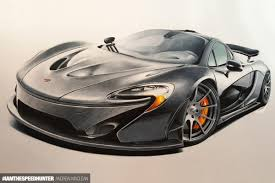 mclaren drawing your automotive art continued speedhunters