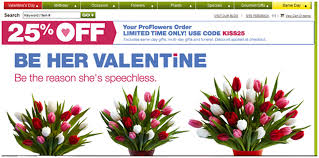 flowers coupon proflowers promo codes and special offers finder