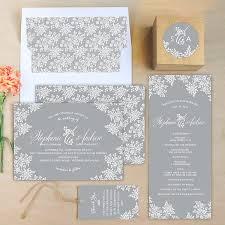 Vintage Lace Wedding Invitations Vintage Lace Wedding Invitations By Emily Crawford Elli