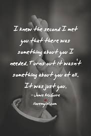 Love Second Chance Quotes by I Knew The Second I Met You Jamie Mcguire Met And Relationships