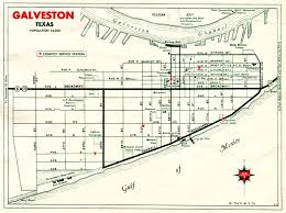 Galveston Map Old Highway Maps Of Texas