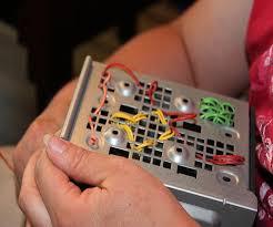 repurpose an old computer hard drive clock wall art u0026 pencil cup