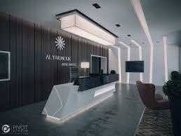 Interior Design And D Visuals Of Apartments Building Reception - Design of apartments