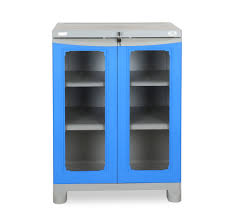 buy nilkamal freedom small cabinet deep blue and grey online