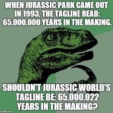 World Of Memes - ponder jurassic park know your meme