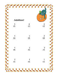 halloween math worksheets first grade u0026 common worksheets first
