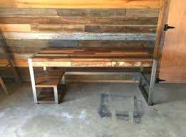 Reclaimed Wood Desk Furniture Articles With Reclaimed Wood Office Furniture Tag Magnificent