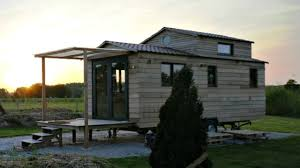 Home Design 8x16 French Bed U0026 Bath Tiny Home With Floor Level U0026 Loft Bedroom