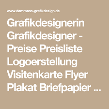flyer design preise grafikdesignerin grafikdesigner preise preisliste logoerstellung