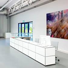 Reception Desk With Display Reception Desk Circulation Desk All Architecture And Design