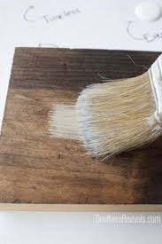 creating a driftwood finish with paint diy pinterest