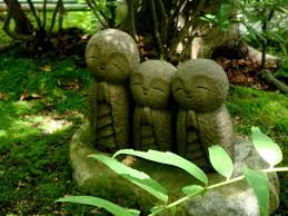 59 best jizo statues images on japanese gardens zen