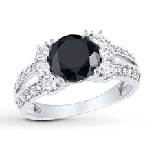 white and black diamond engagement rings how to determine the value of black diamonds naturally colored