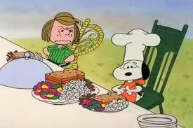peanuts thanksgiving gif by dawnstaff find on gifer