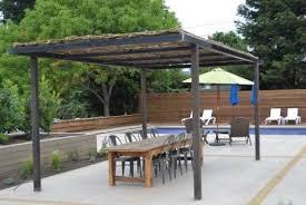 hampton bay steel pergola with canopy pergola gazebo ideas