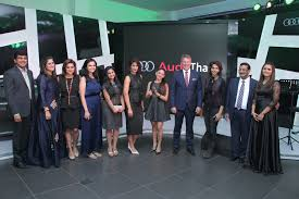 audi showroom audi drives into thane first luxury car manufacturer to open a