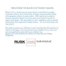 blazecut family salon a family salon