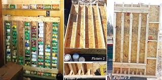 How To Build A Vertical Garden - how to build a vertical storage rack for cans home design