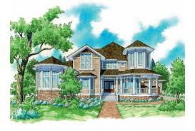 house plans with turrets eplans house plan turrets and windows 3096