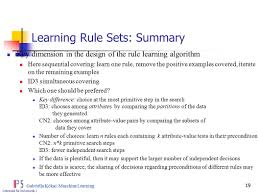 one rule learning set of rules ppt video online download